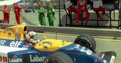 All'asta la Williams dei record, in vendita la FW14B con la quale Mansell vinse il titolo nel '92