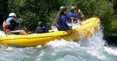 Un'avventura entusiasmante col rafting
